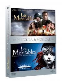 Los miserables (pelicula + musical) (dvd)
