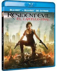 Resident Evil 6 (blu-ray + blu-ray extras)