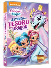 Shimmer & shine: la leyenda del tesoro del dragón (dvd)