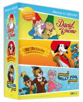 Pack Willy Fog, D'artacán y David, el Gnomo- DVD