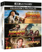 Jumanji - Pack 1-3 (4K UHD)- BD